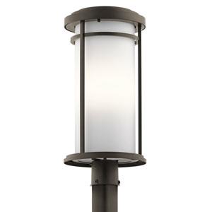 Toman Olde Bronze One-Light Outdoor Post Light