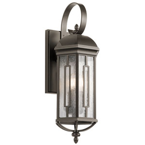 Galemore Olde Bronze 9.5-Inch Three-Light Outdoor Wall Mount
