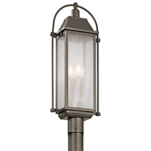 Harbor Row Olde Bronze Four-Light Outdoor Post Lantern