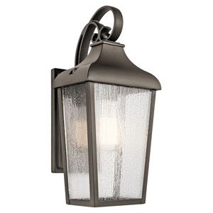 Forestdale Olde Bronze One-Light Outdoor Wall Sconce