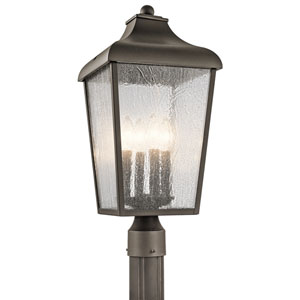 Forestdale Olde Bronze Four-Light Outdoor Post Light