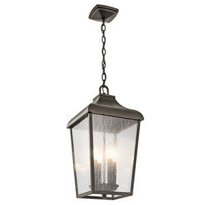 Forestdale Olde Bronze Four-Light Outdoor Pendant
