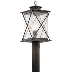 Argyle Weathered Zinc LED One-Light Outdoor Post Light
