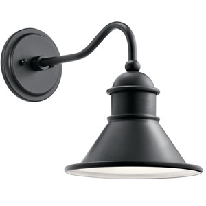 Northland Black Outdoor Wall Sconce