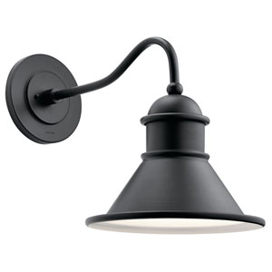 Northland Black 14-Inch One-Light Outdoor Wall Light