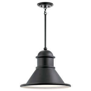 Northland Black 18-Inch One-Light Outdoor Hanging Pendant