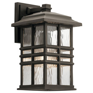 Beacon Square Olde Bronze 8-Inch One-Light Outdoor Wall Light