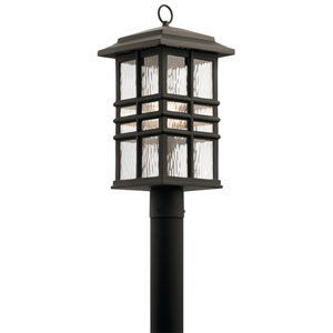 Beacon Square Olde Bronze 10-Inch One-Light Outdoor Post Lantern