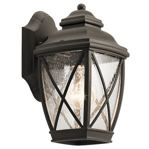 Tangier Olde Bronze 6-Inch One-Light Outdoor Wall Light