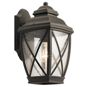 Tangier Olde Bronze 8-Inch One-Light Outdoor Wall Light