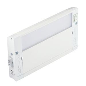 4U30K08WHT Textured White 4U LED  8-Inch 3000K Undercabinet Light