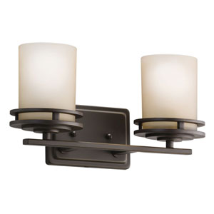 Hendrik Olde Bronze Two-Light Wall Sconce
