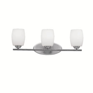 Eileen Brushed Nickel Three-Light Wall Sconce