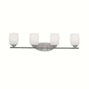 Eileen Brushed Nickel Four-Light Wall Sconce
