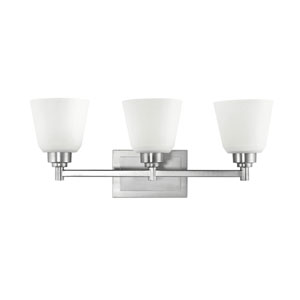 Berwick Three-Light Bath Fixture