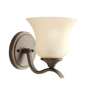 Wedgeport Olde Bronze One-Light Wall Sconce