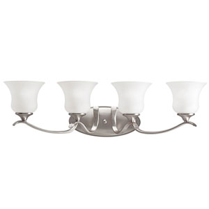 Wedgeport Brushed Nickel Four-Light Bath Fixture