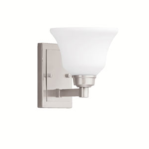 Langford Brushed Nickel 7-Inch One-Light Energy Star Wall Sconce