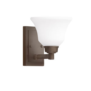 Langford Olde Bronze 7-Inch One-Light Energy Star Wall Sconce