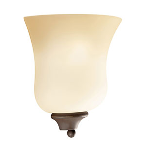 Wedgeport Olde Bronze 9-Inch One-Light Energy Star Wall Sconce