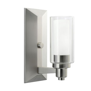 Circolo Brushed Nickel One-Light Wall Sconce
