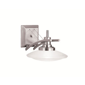 Structures Brushed Nickle One-Light Wall Sconce
