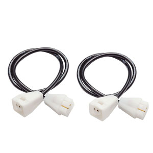 6HS1IC06WH White 6-Inch Hard Strip Interconnect