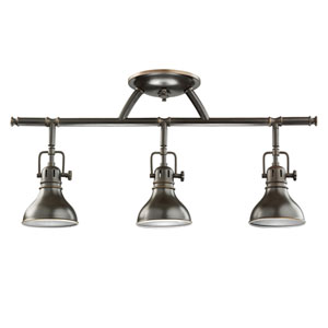Olde Bronze Halogen Rail Light