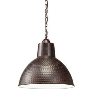 Missoula One-Light Bronze Swag Pendant Lamp
