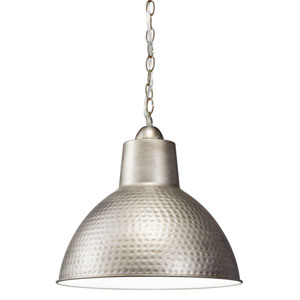 Missoula One-Light Antique Pewter Swag Lamp Pendant