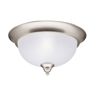 Dover Brushed Nickel Flush Mount Ceiling Light