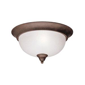 Dover Tannery Bronze Flush Mount Ceiling Light