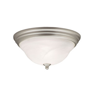 Telford Brushed Nickel Flush Mount Ceiling Light