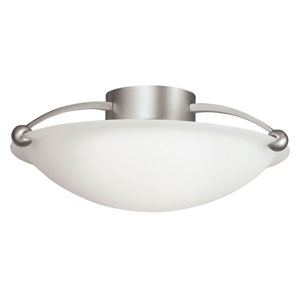 Swiss Passport Semi-Flush Ceiling Light