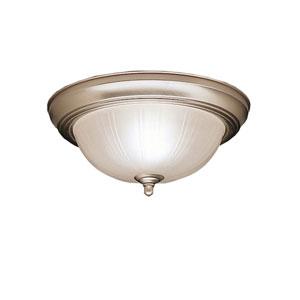 Brushed Nickel Flush Mount Ceiling Light