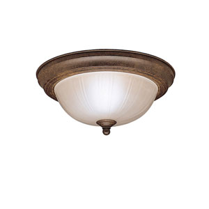 Tannery Bronze Flush Mount Ceiling Light