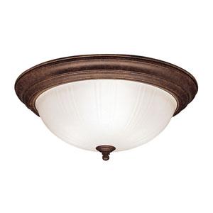 Tannery Bronze Flush Mount Ceiling Light