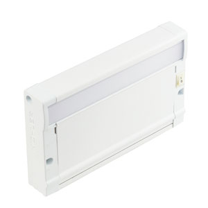 8U27KD07WHT Textured White 8U 7-Inch 2700K LED Undercabinet Light Direct Wire Only