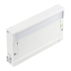 8U27KM07WHT Textured White 8U 7-Inch 2700K LED Undercabinet Light Modular Only