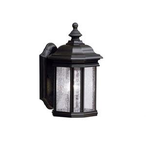 Kirkwood Black Outdoor Wall-Mounted Lantern