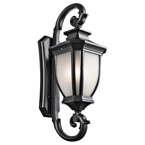 Salisbury Black Four Light X-Large Outdoor Wall Sconce