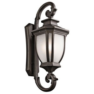 Salisbury Rubbed Bronze Four Light Extra Large Outdoor Wall Sconce