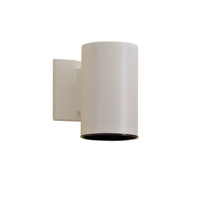 White Wall-Mount Light