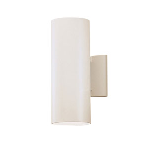 Cans and Bullets White Up/Down Wall Sconce