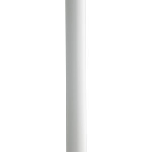 White Ladder Rest Steel Post