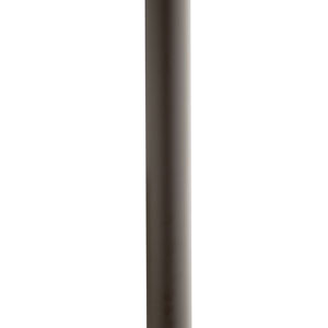 Architectural Bronze Ladder Rest Steel Post