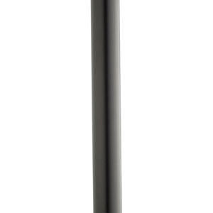 Black Outdoor Steel Post