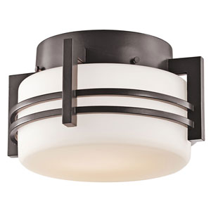 Pacific Edge Architectural Bronze Outdoor Ceiling Light