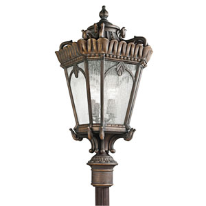 Tournai Londonderry Four-Light Post Mount