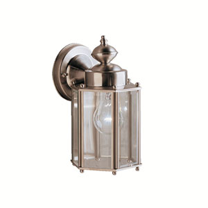 New Street Stainless Steel Outdoor Wall-Mount Light